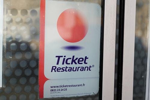 Affiche ticket restaurant