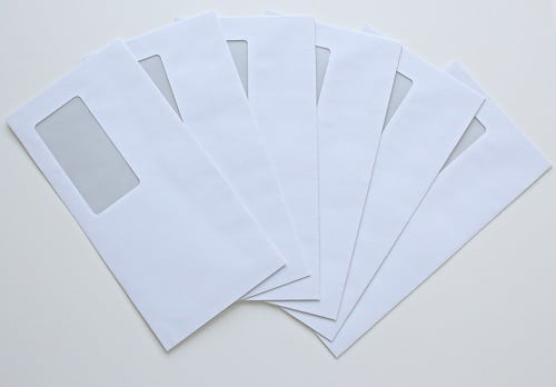 Tas d'enveloppes