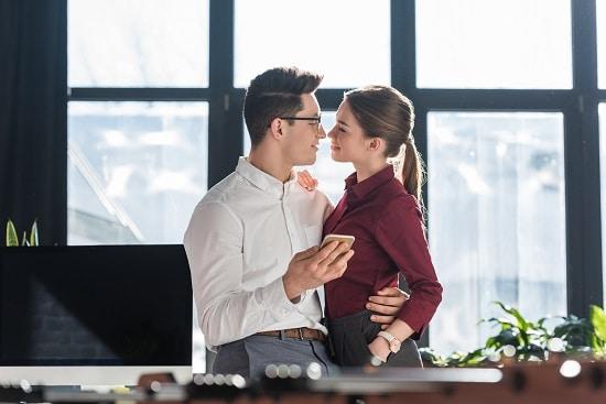 Relation amoureuse entre collègues